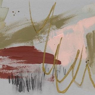 Scribbles & Paint I