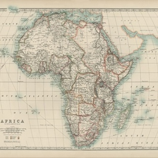 Johnston's Map of Africa