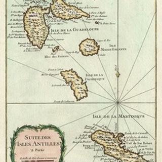 Petite Map of the Antilles Islands I