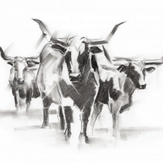 Contemporary Cattle I