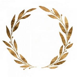 Wreath in Gold III