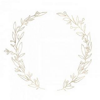 Wreath in Gold II