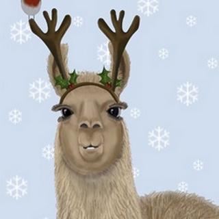 Llama, Antlers