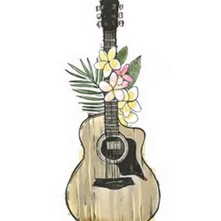 Guitar Foliage I