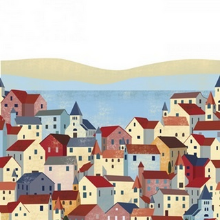 Illustrated Italian Landscape III