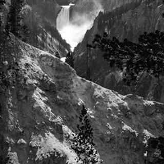 Mountain Waterfall I