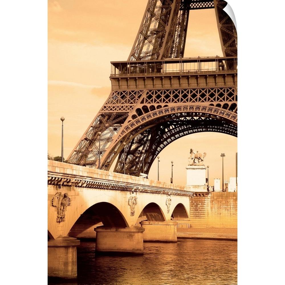 Wall Decal entitled Eiffel Tower, Paris, France   eBay
