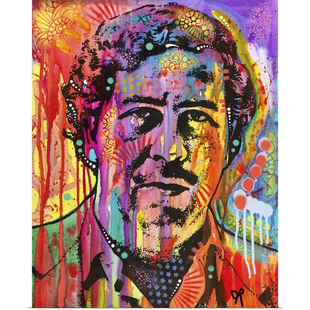 Poster Print Wall Art Entitled Pablo Escobar