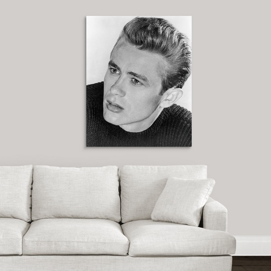 Premium Thick-Wrap Canvas Wall Art entitled James Dean (1931-1955 ...