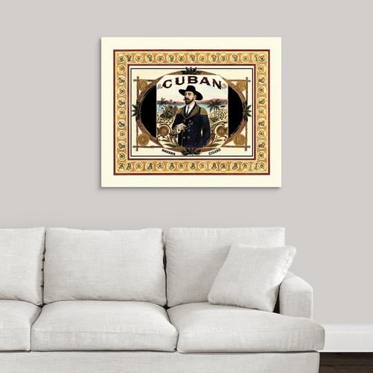 Premium Thick-Wrap Canvas Wall Art entitled Cuban Cigars | eBay