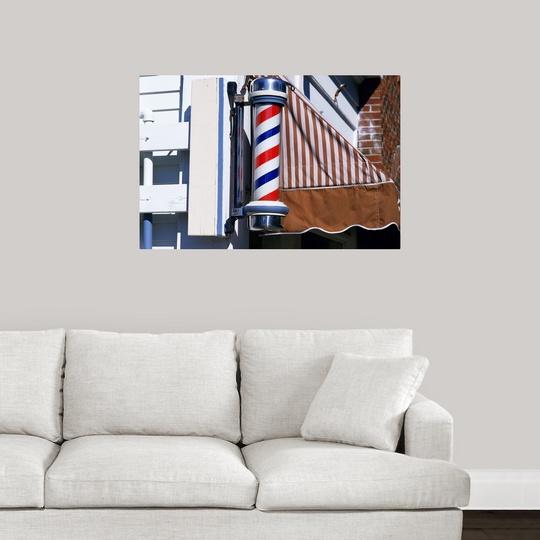 034-Barber-shop-pole-034-Poster-Print miniatura 13
