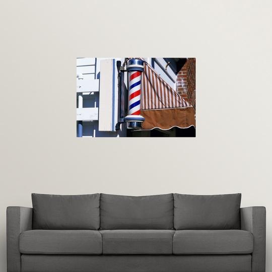 034-Barber-shop-pole-034-Poster-Print miniatura 14