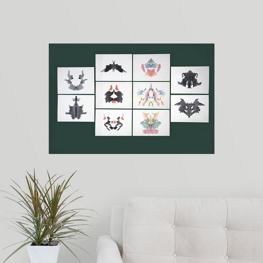 034-Rorschach-Inkblot-Test-034-Poster-Print miniature 13