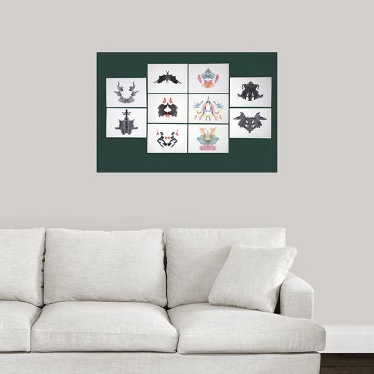 034-Rorschach-Inkblot-Test-034-Poster-Print miniature 11