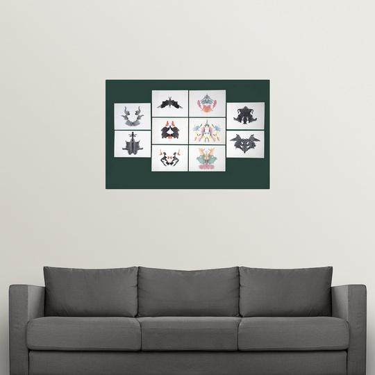 034-Rorschach-Inkblot-Test-034-Poster-Print miniature 7