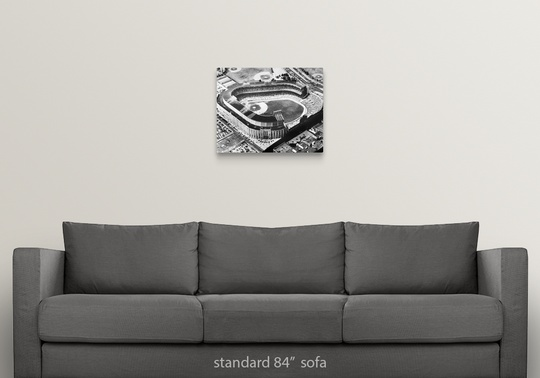 Solid-Faced-Canvas-Print-Wall-Art-entitled-Yankee-Stadium-in-the-Bronx-New-York thumbnail 7