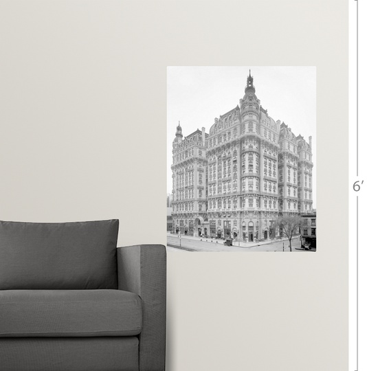 Wall Decal Entitled The Ansonia Apartment Building On