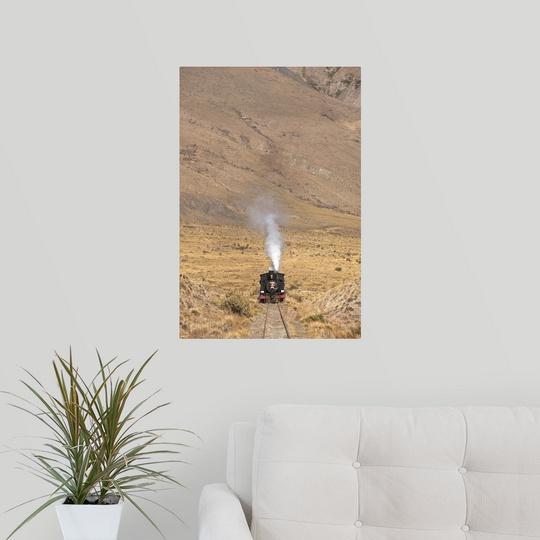 Poster-Print-Wall-Art-entitled-Argentina-Chubut-Province-Esquel-La-Trochita miniature 7