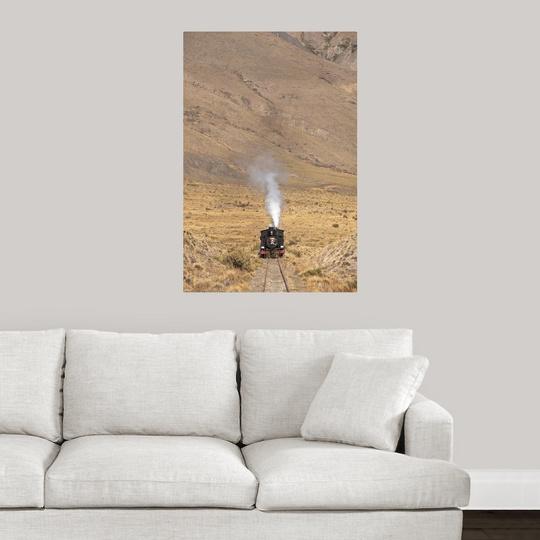 Poster-Print-Wall-Art-entitled-Argentina-Chubut-Province-Esquel-La-Trochita miniature 14