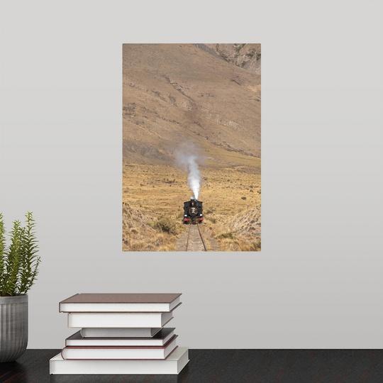 Poster-Print-Wall-Art-entitled-Argentina-Chubut-Province-Esquel-La-Trochita miniature 2