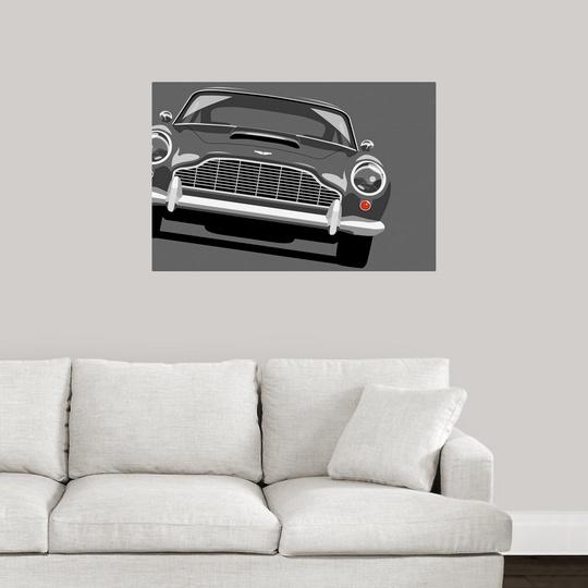 """Aston Martin DB5"" Poster Print"
