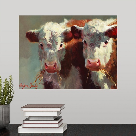 034-Cow-Belles-034-Wall-Decal miniature 2