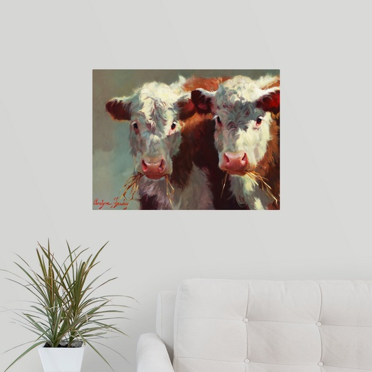 034-Cow-Belles-034-Wall-Decal miniature 12