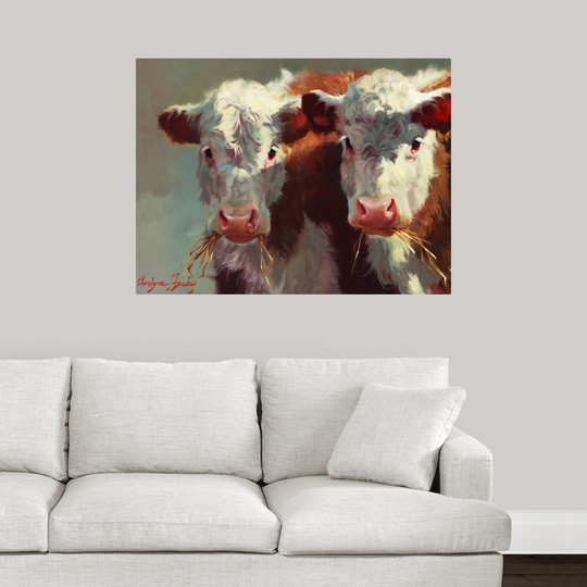 034-Cow-Belles-034-Wall-Decal miniature 11