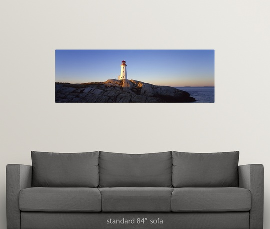 Lighthouse Warehouse Halifax: Wall Decal Entitled Peggys Point Lighthouse, Peggys Cove